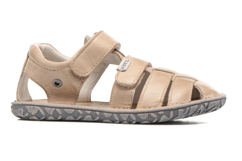 Sandales et nu-pieds Noël BOON Beige vue derrière