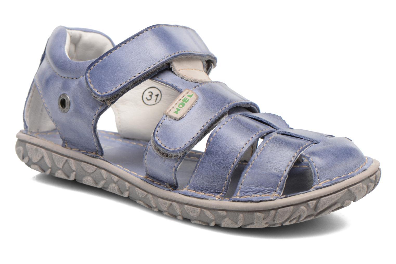 Sandales et nu-pieds Noël BOON Bleu vue détail/paire