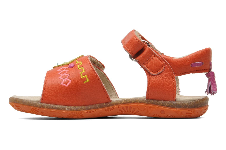 Sandales et nu-pieds Noël MINI LOXA Rouge vue face