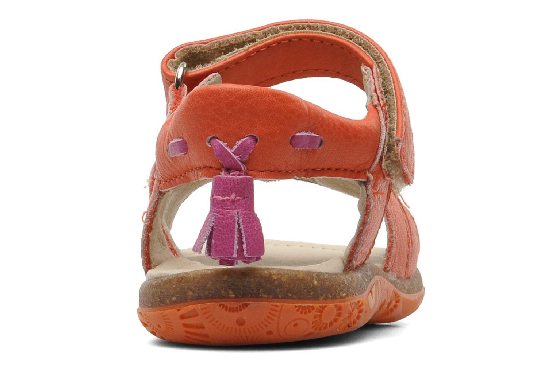 Sandales et nu-pieds Noël MINI LOXA Rouge vue droite