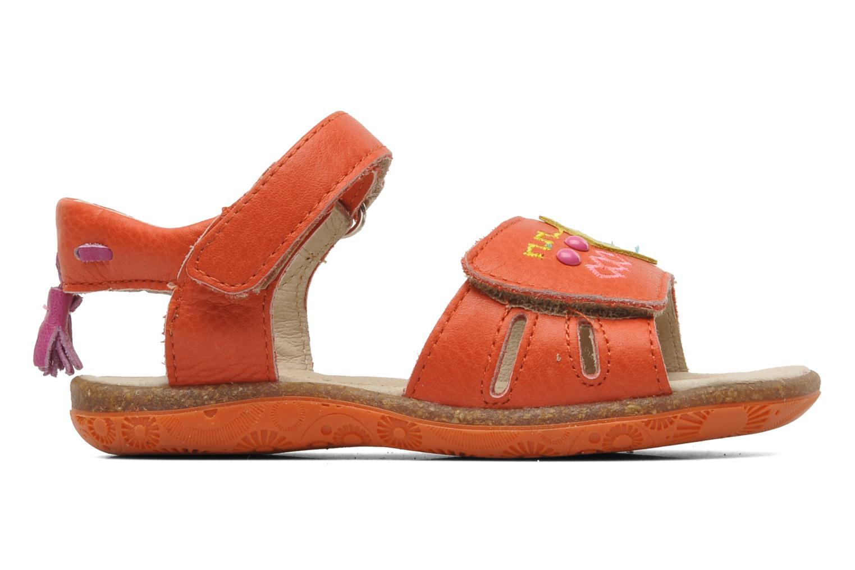 Sandales et nu-pieds Noël MINI LOXA Rouge vue derrière