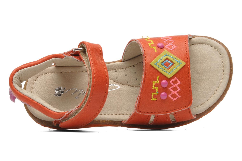 Sandales et nu-pieds Noël MINI LOXA Rouge vue gauche