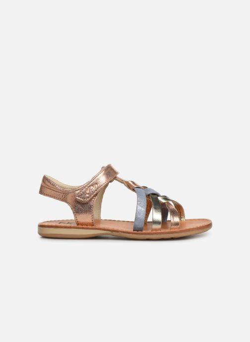Sandali e scarpe aperte Noël Strass Argento immagine posteriore