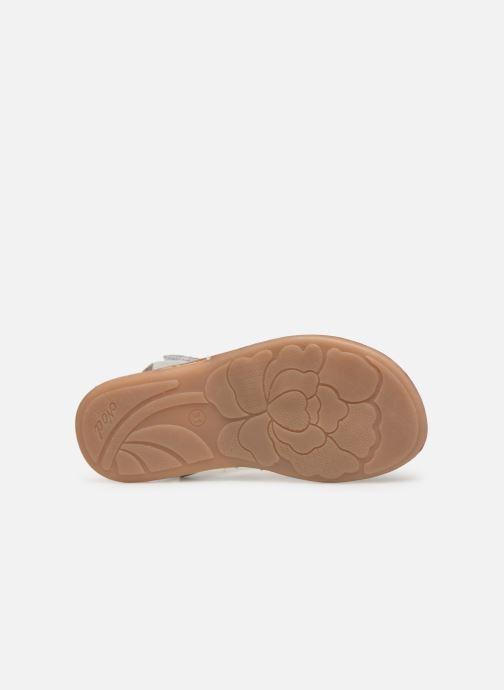 Sandali e scarpe aperte Noël Strass Argento immagine dall'alto