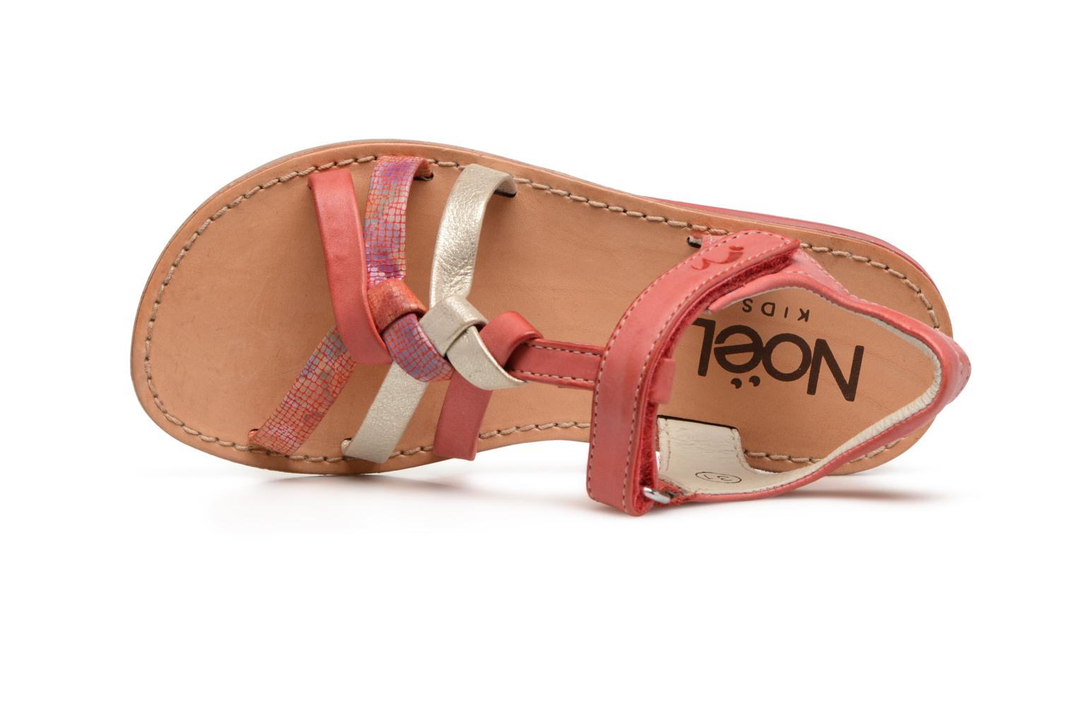 Sandalen Noël Strass Roze links