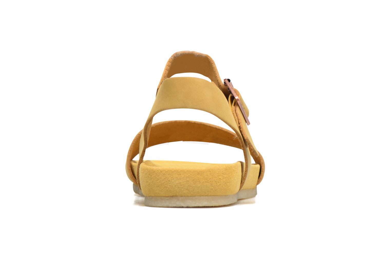 Sandales et nu-pieds Clarks Originals Dusty Soul Beige vue droite