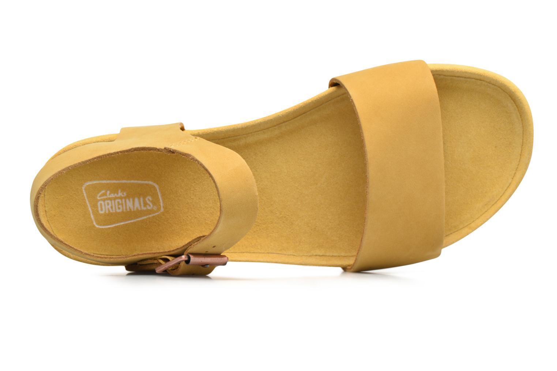 Sandales et nu-pieds Clarks Originals Dusty Soul Beige vue gauche