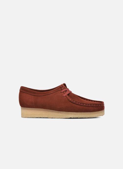 97d0ea2da515ed Chaussures à lacets Clarks Originals Wallabee W Bordeaux vue derrière