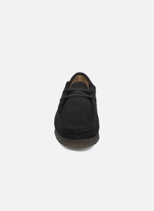 Veterschoenen Clarks Originals Wallabee W Zwart model