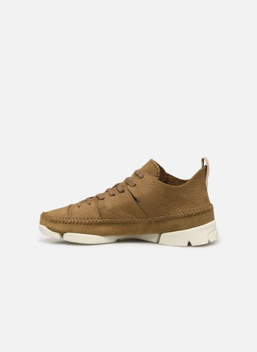 Baskets Clarks Originals TrigenIc Flex Marron vue face