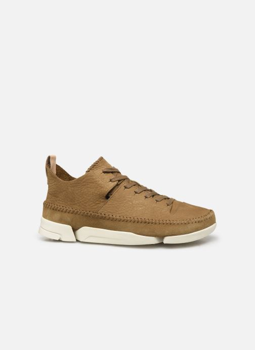 Sneakers Clarks Originals TrigenIc Flex Marrone immagine posteriore