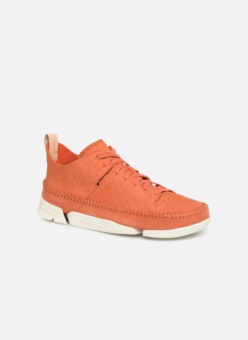 Baskets Clarks Originals TrigenIc Flex Orange vue détail/paire