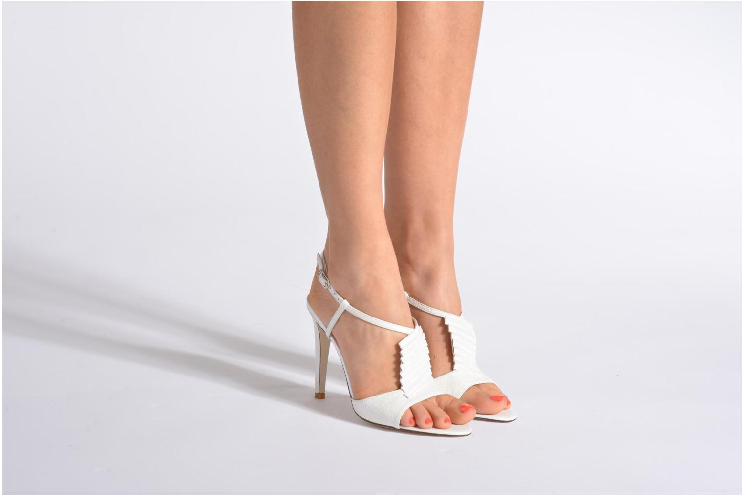 Sandals Georgia Rose Rumimy White view from underneath / model view