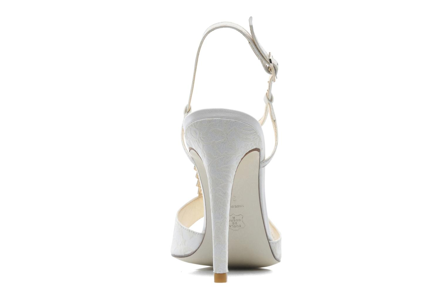 Sandals Georgia Rose Rumimy White view from the right
