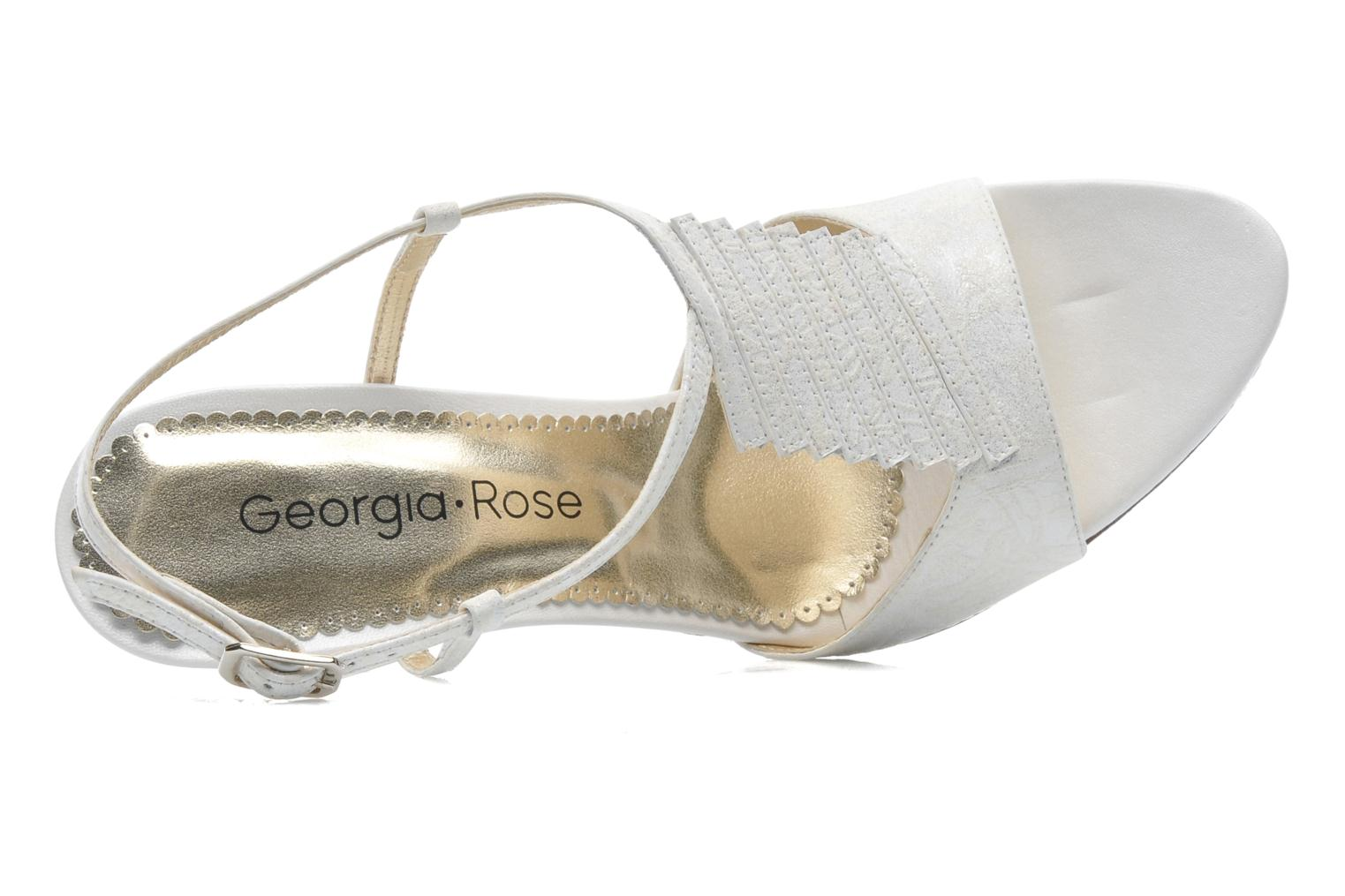 Sandals Georgia Rose Rumimy White view from the left