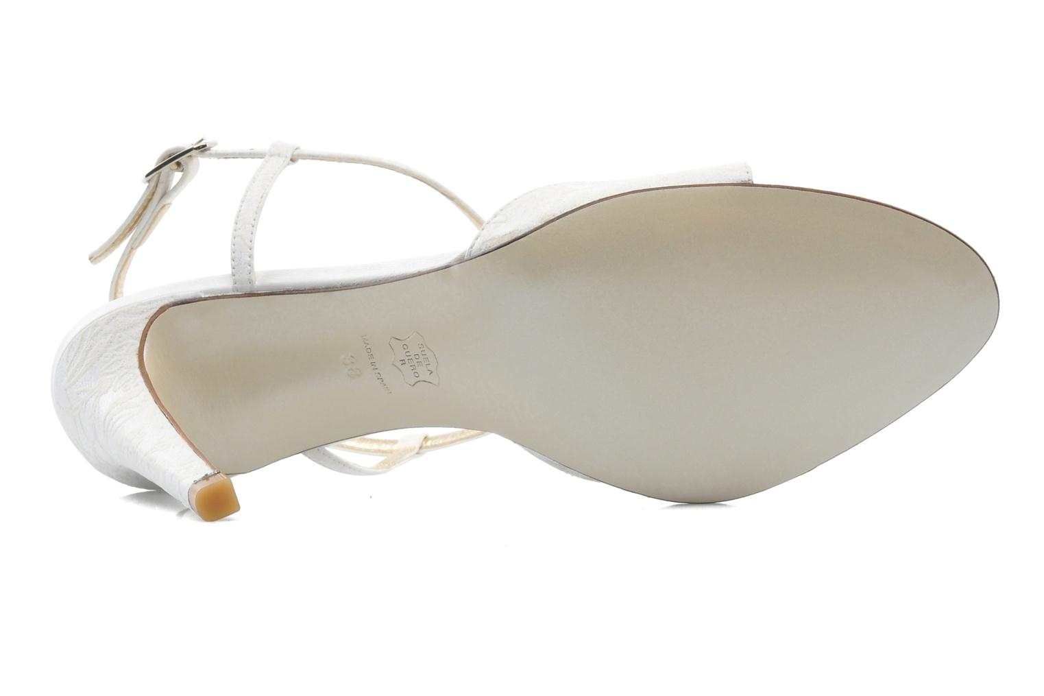 Sandals Georgia Rose Rumimy White view from above
