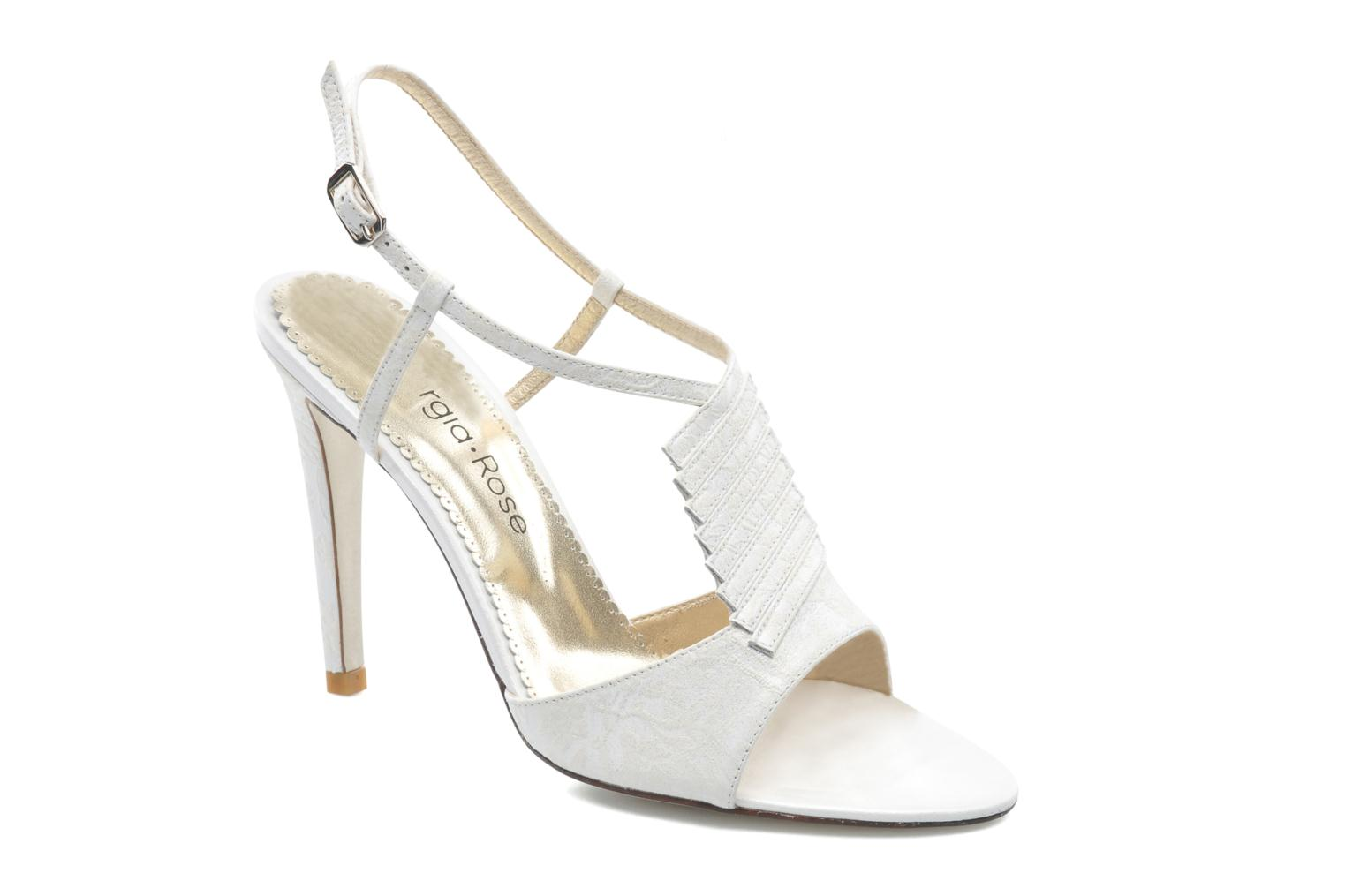 Sandals Georgia Rose Rumimy White detailed view/ Pair view