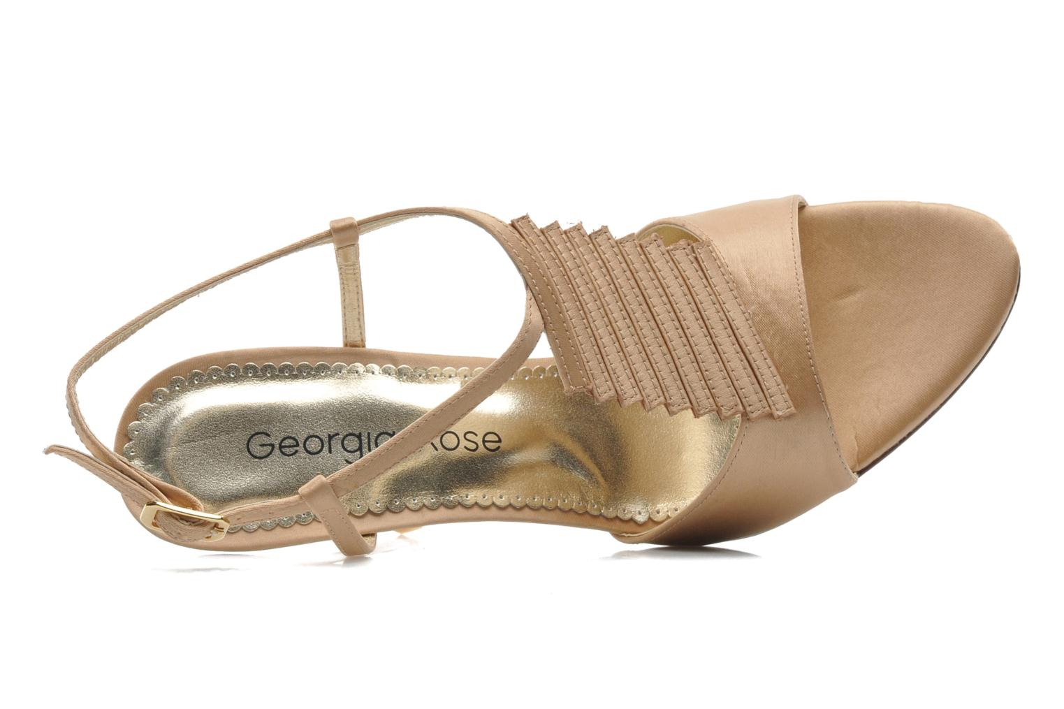 Sandals Georgia Rose Rumimy Bronze and Gold view from the left