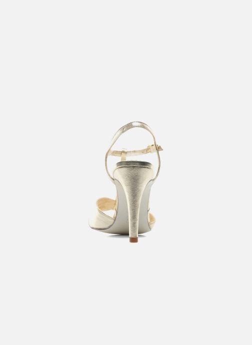 Sandali e scarpe aperte Georgia Rose Rutaime Oro e bronzo immagine destra