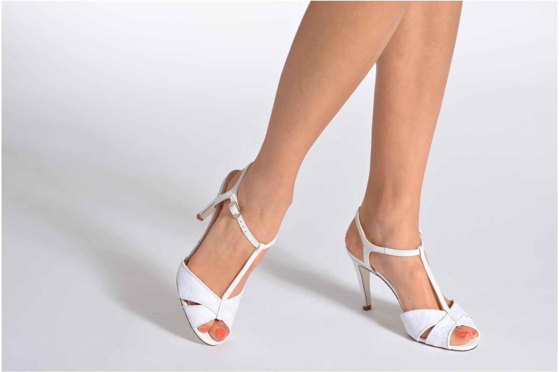 Sandales et nu-pieds Georgia Rose Rutaime Or et bronze vue bas / vue portée sac