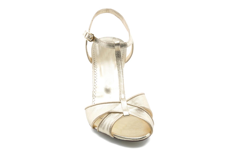 Sandales et nu-pieds Georgia Rose Rutaime Or et bronze vue portées chaussures