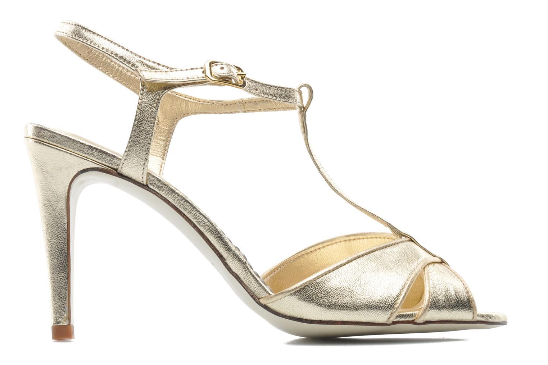 Sandales et nu-pieds Georgia Rose Rutaime Or et bronze vue derrière