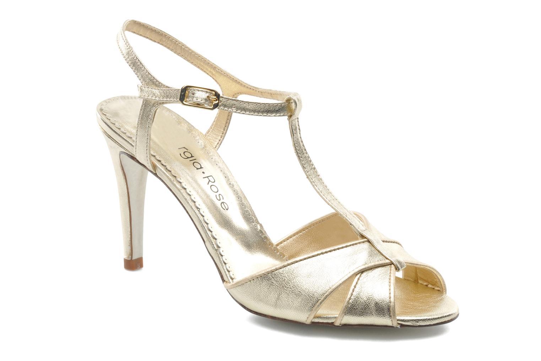 Sandales et nu-pieds Georgia Rose Rutaime Or et bronze vue détail/paire