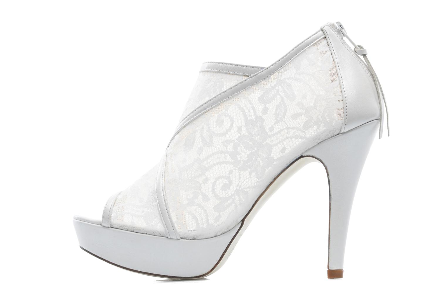 Ankle boots Georgia Rose Ruamote White front view