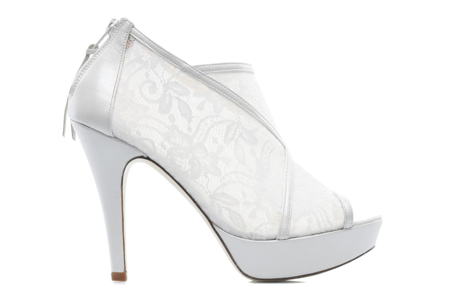 Ankle boots Georgia Rose Ruamote White back view