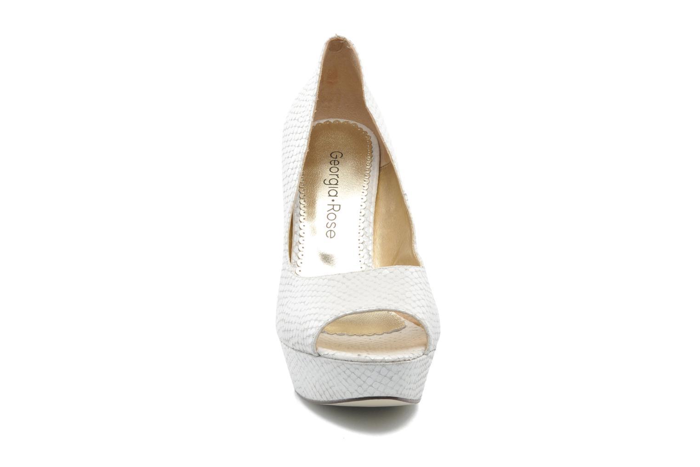 Escarpins Georgia Rose Ruliebdich Blanc vue portées chaussures