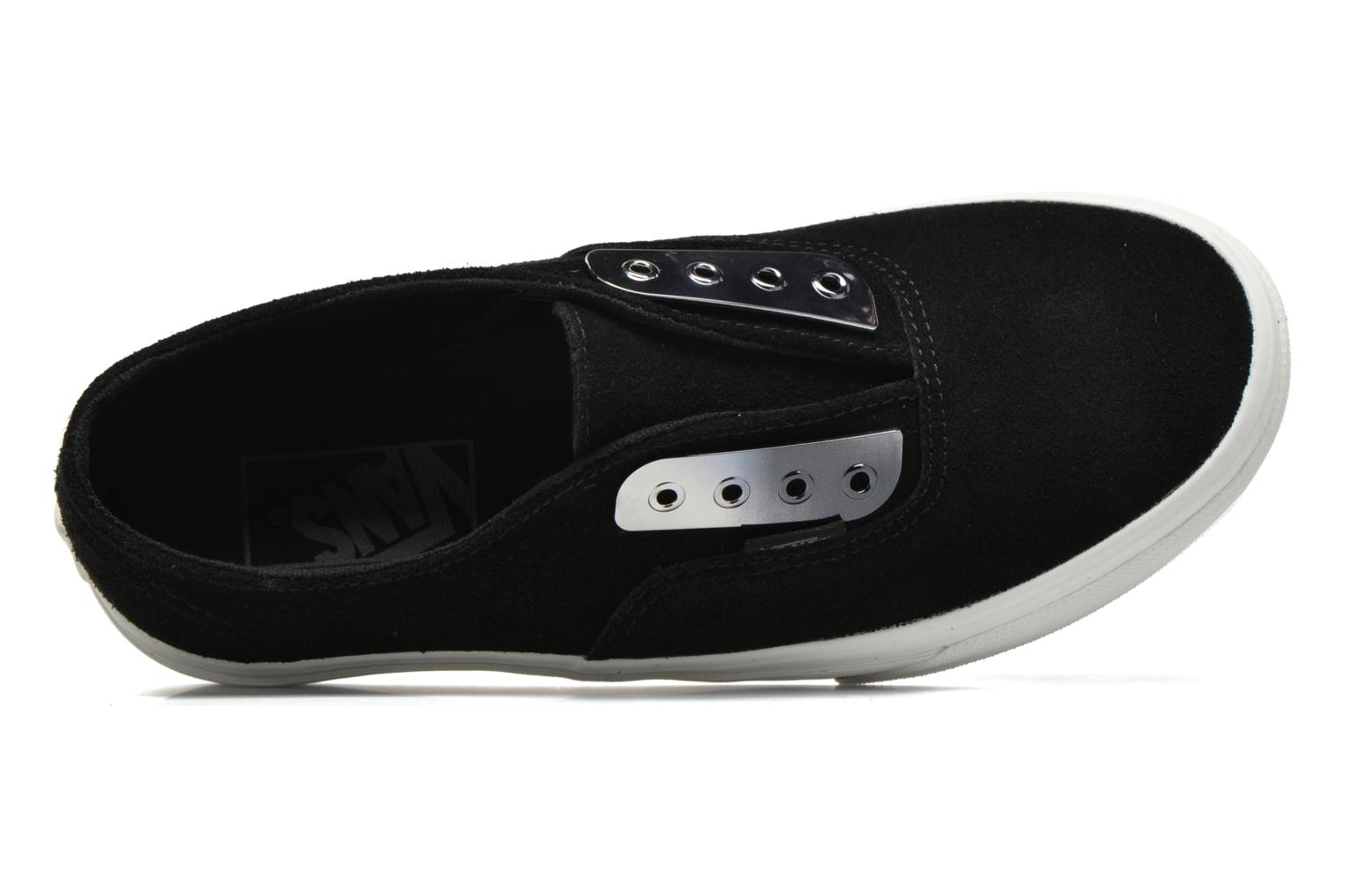 Baskets Vans Authentic Gore W Noir vue gauche