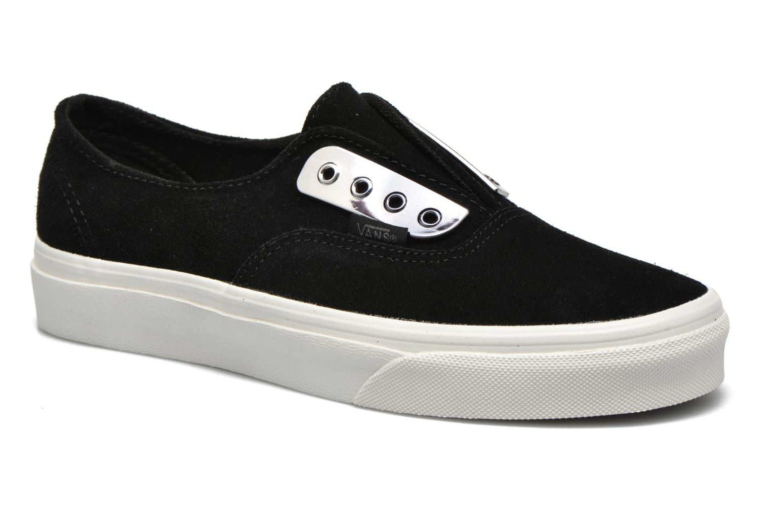 Baskets Vans Authentic Gore W Noir vue détail/paire