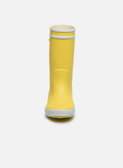 Stivali Aigle LOLLY-POP Giallo modello indossato
