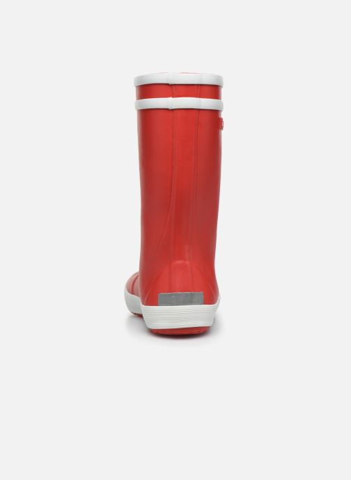 Botas Aigle LOLLY-POP Rojo vista lateral derecha