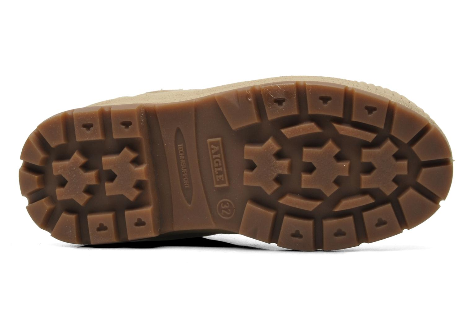 Trainers Aigle TENERE KID Beige view from above