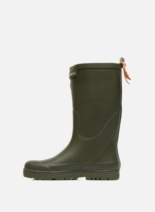 Stiefel Aigle Woody Pop grün ansicht von vorne