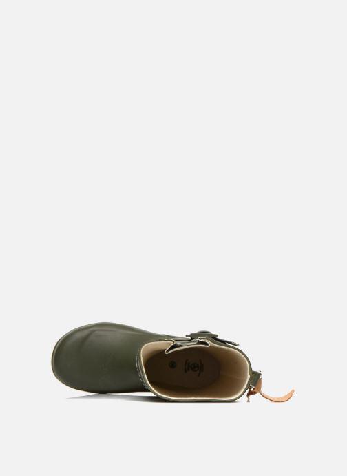 Stiefel Aigle Woody Pop grün ansicht von links