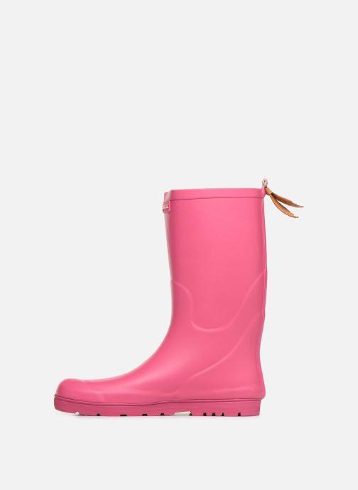 Støvler & gummistøvler Aigle Woody Pop Pink se forfra