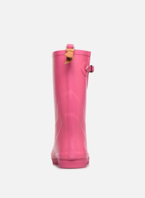 Støvler & gummistøvler Aigle Woody Pop Pink Se fra højre