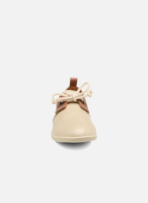 Sneakers Armistice Stone One shine W Rosa modello indossato