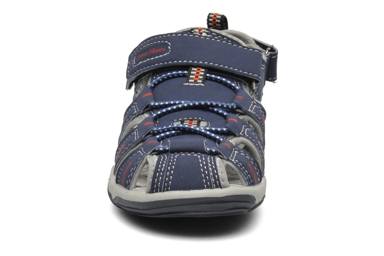 Sandales et nu-pieds I Love Shoes Oliv Bleu vue portées chaussures