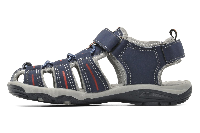 Sandales et nu-pieds I Love Shoes Oliv Bleu vue face