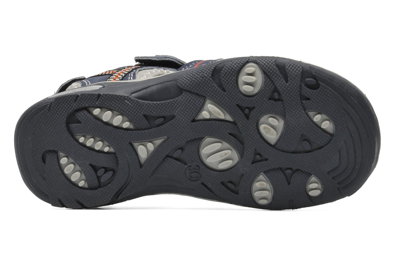 Sandales et nu-pieds I Love Shoes Oliv Bleu vue haut