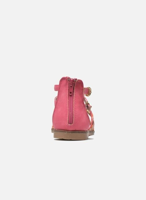 Sandalias I Love Shoes Tina Rosa vista lateral derecha