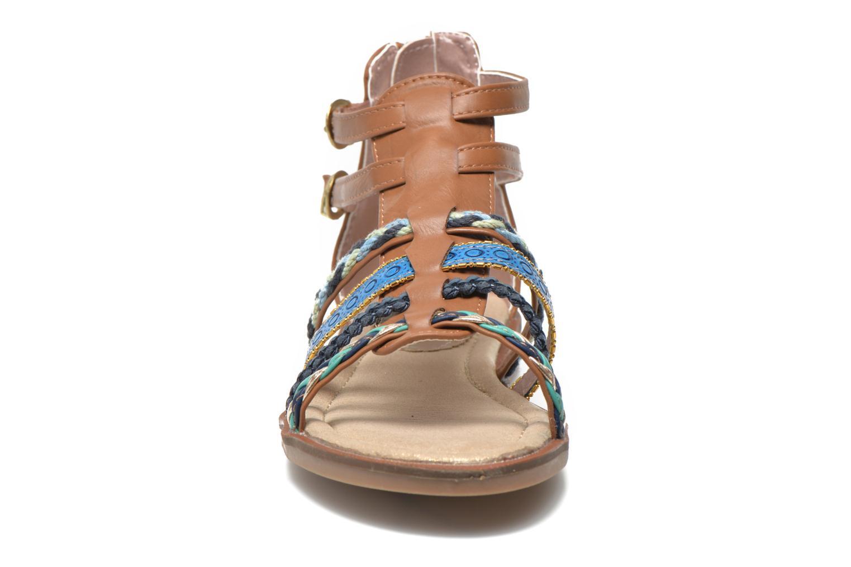Sandales et nu-pieds I Love Shoes Tina Marron vue portées chaussures