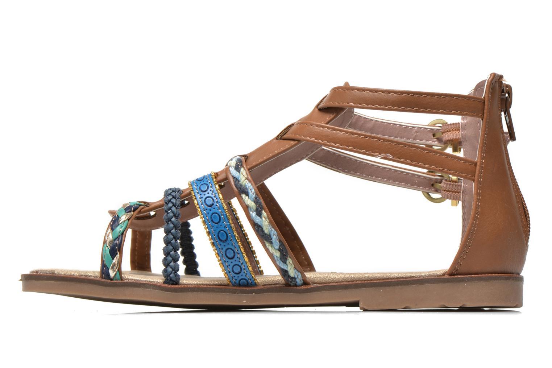 Sandales et nu-pieds I Love Shoes Tina Marron vue face