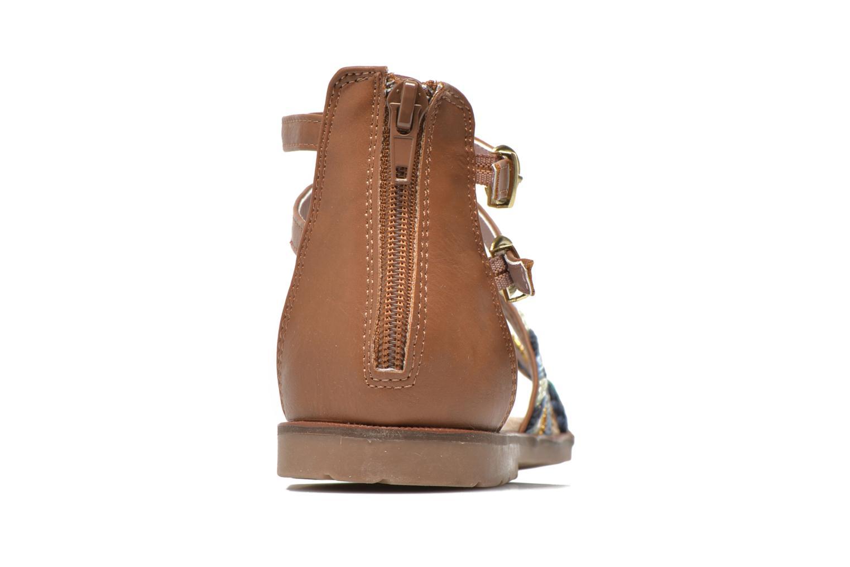 Sandales et nu-pieds I Love Shoes Tina Marron vue droite
