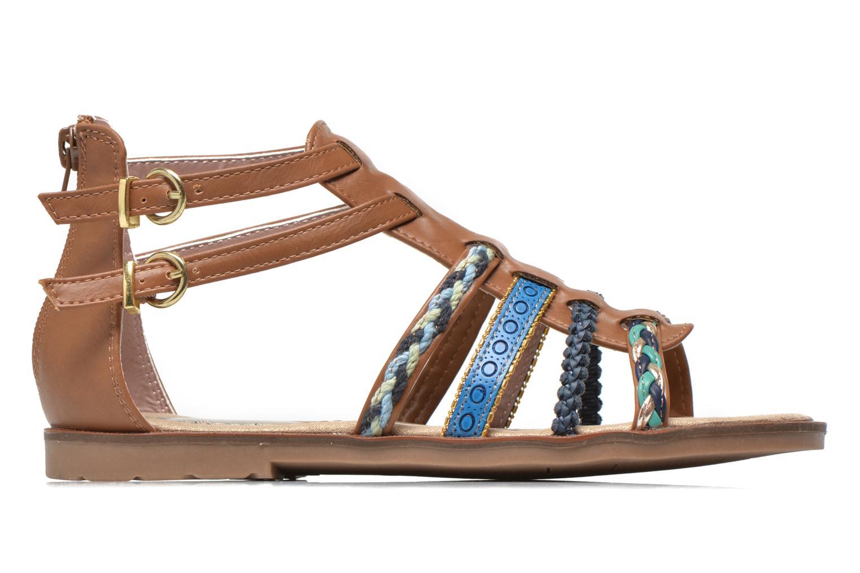 Sandales et nu-pieds I Love Shoes Tina Marron vue derrière