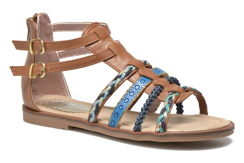 Sandales et nu-pieds I Love Shoes Tina Marron vue détail/paire
