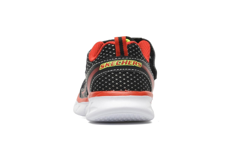 Baskets Skechers Synergy Mini Dash Noir vue droite